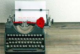 Ouderwetse typemachine