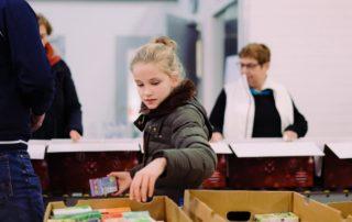 Inpakavond Kerstpakkettenactie 2018 door Peter van der Lingen