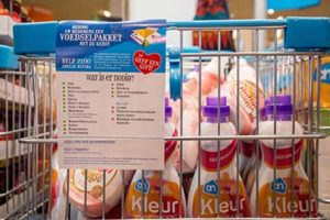 Producten voor de Kerstpakkettenactie Zwolle zoals wasmiddel