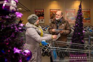 Inzamelweekend Kerstpakkettenactie Albert Heijn Zwolle