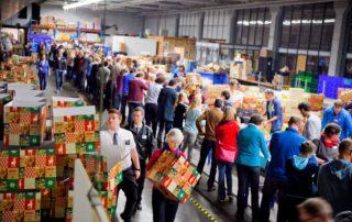 Inpakavond Kerstpakkettenactie 2015