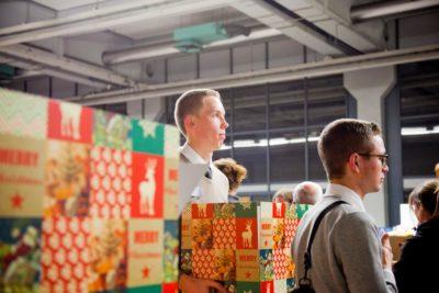 Inpakavond Kerstpakkettenactie Zwolle 2015