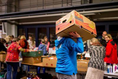 Inpakavond Kerstpakkettenactie 2016
