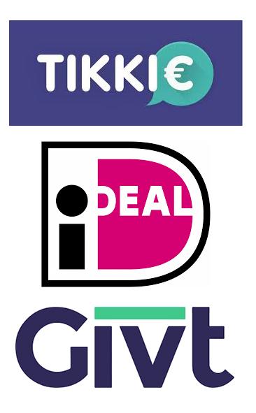 Logo's betaalmogelijkheden